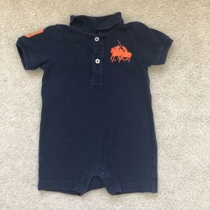 🧸6 month Ralph Lauren boys romper